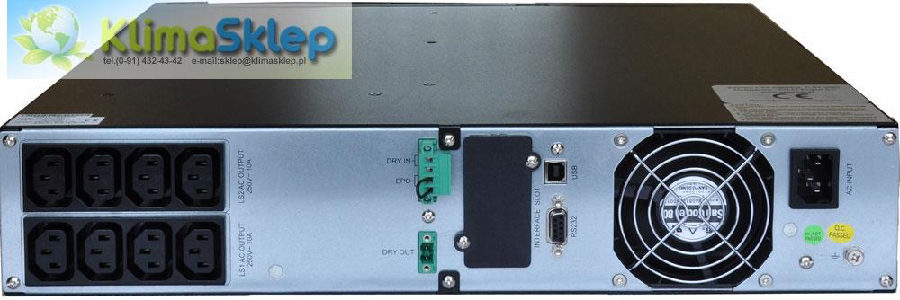 UPS Agpower CRT1 widok z tyłu