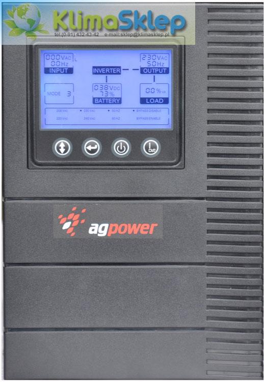 Zasilacz awaryjny UPS Agpower CT1