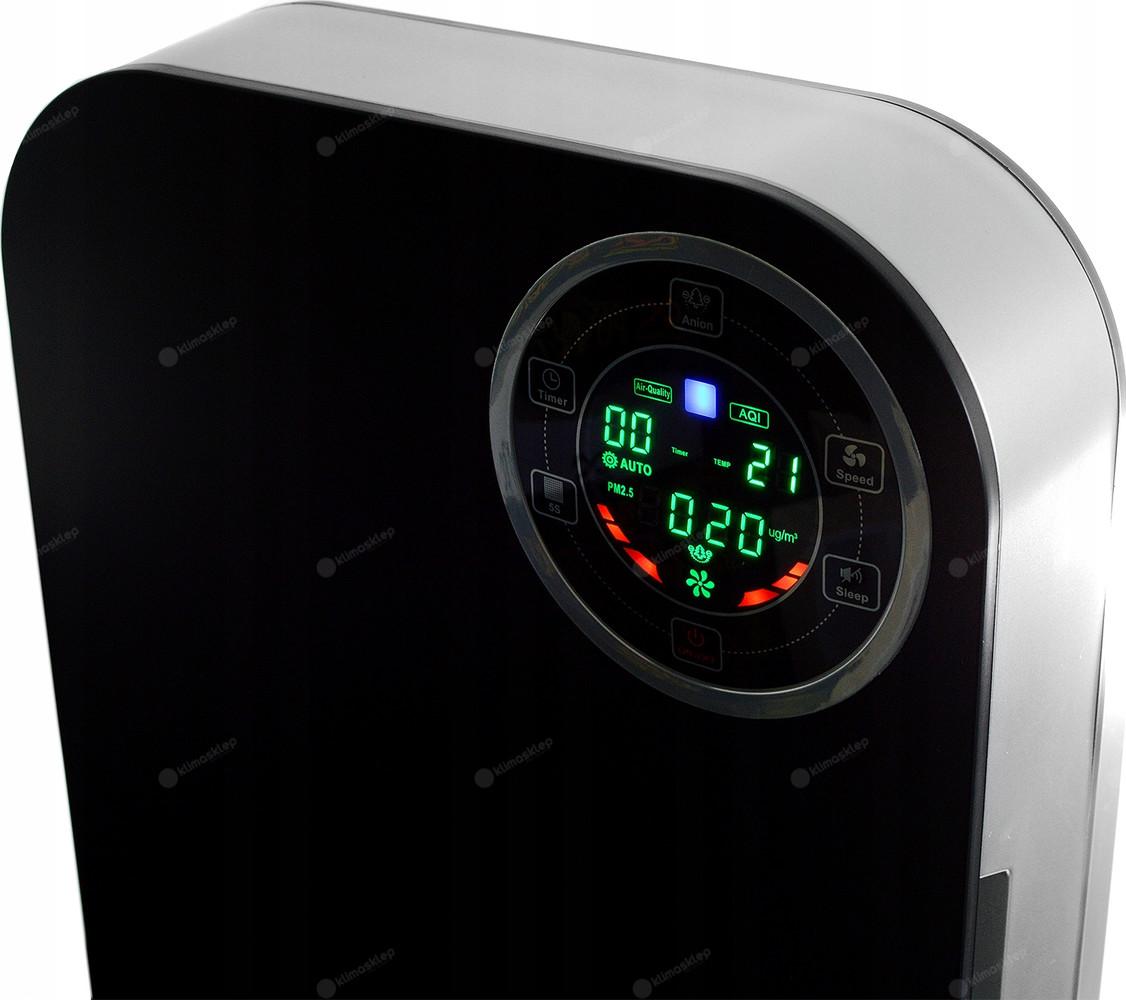 Oczyszczacz powietrza Cronos GOLD - diodowe podświetlenie