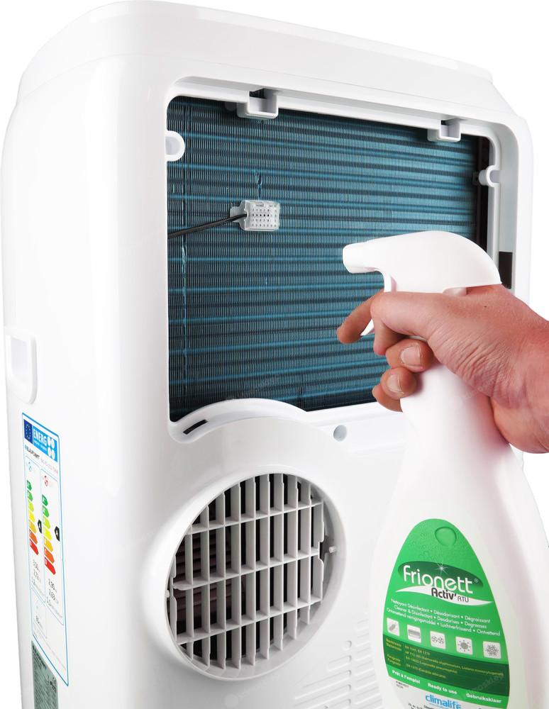 Preparat do odgrzybiania klimatyzacji DP750 PRO odtłuszcza powierzchnie