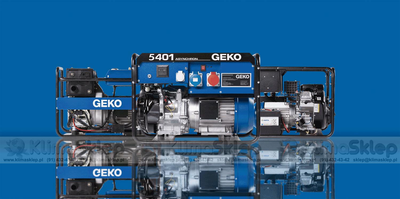Agregat prądotwórczy EISEMANN/GEKO BASIC LINE
