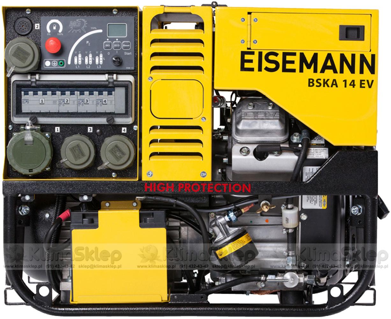 Agregat prądotwórczy Eisemann BSKA 14 E-S (silnik B&S)