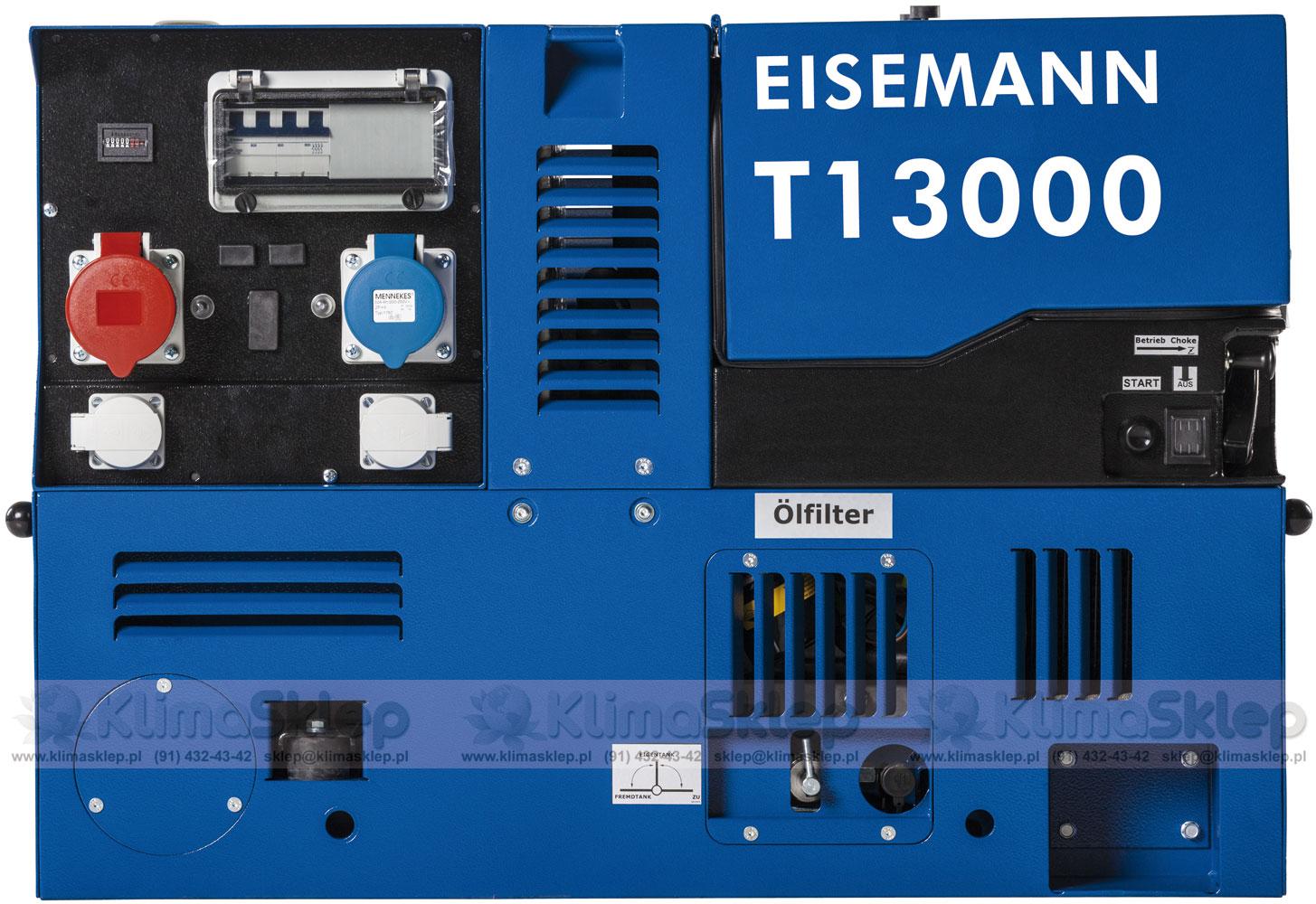 Agregat prądotwórczy Eisemann T 13000 E (silnik B&S)