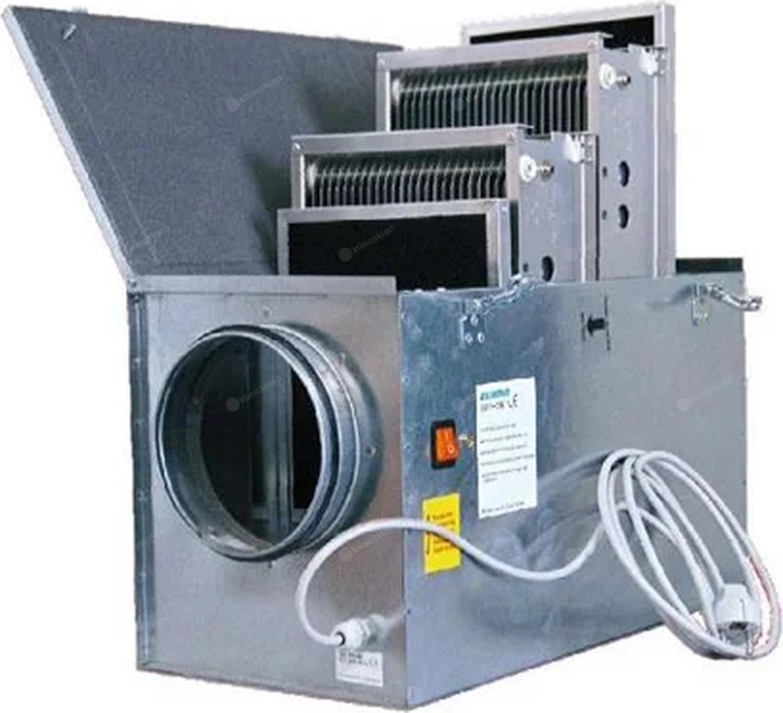 Oczyszczacz powietrza Elixair E1250 - kanałowy