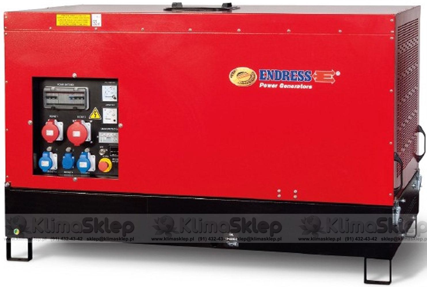 Agregat prądotwórczy Endress ESE 15 YW-B (YANMAR)