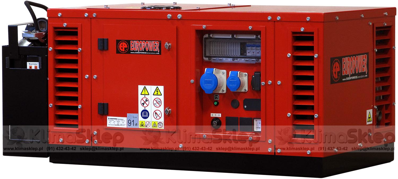 Agregat prądotwórczy Europower EPS 12000 E AVR-AUTO + olej Honda 10W-30 (Honda)