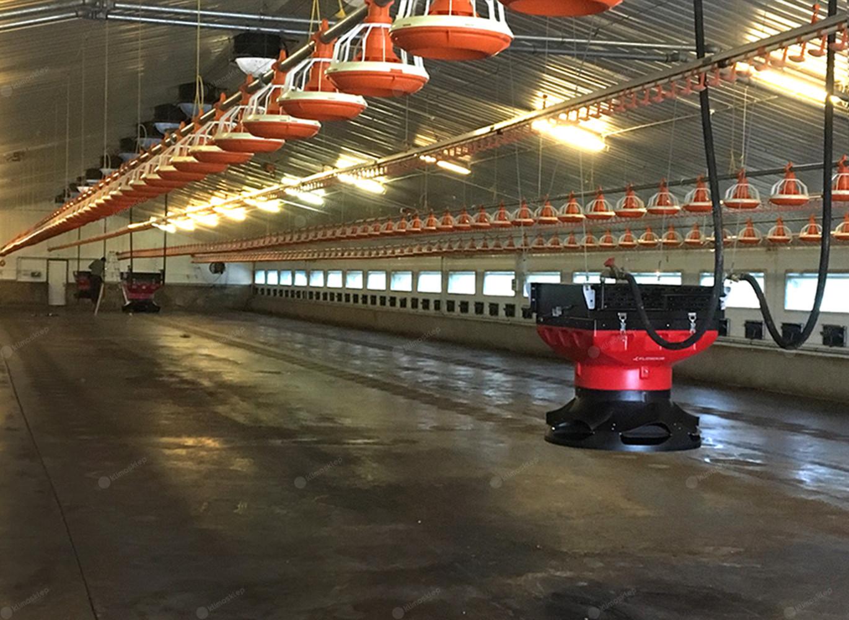 Nagrzewnica wodna Flowair LEO AGRO HT5 jest łatwa do utrzymania w czystości