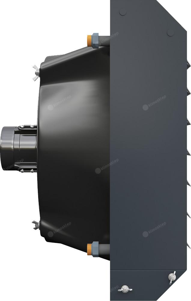 Nagrzewnica wodna Flowair LEO AGRO ST - możliwość montażu na konsoli obrotowej