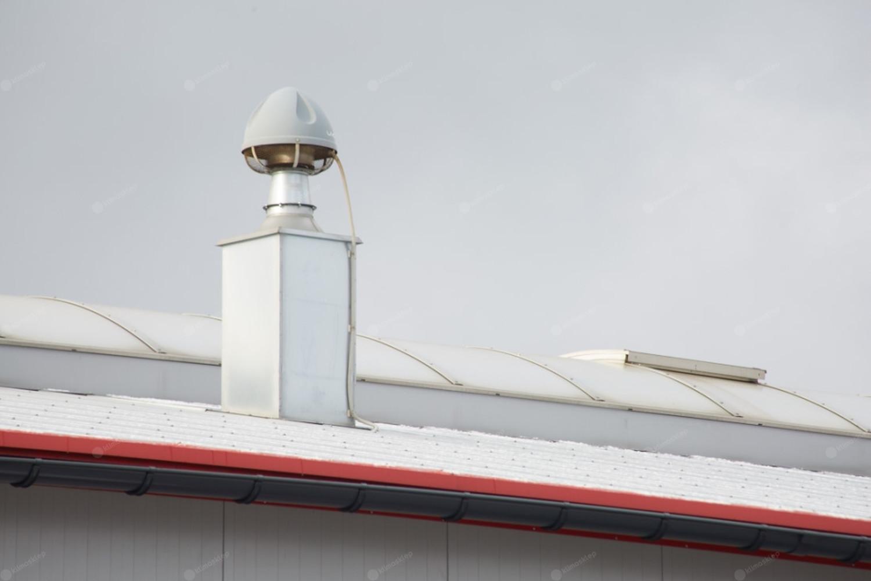 Wentylator dachowy Flowair UVO - przykład zastosowania