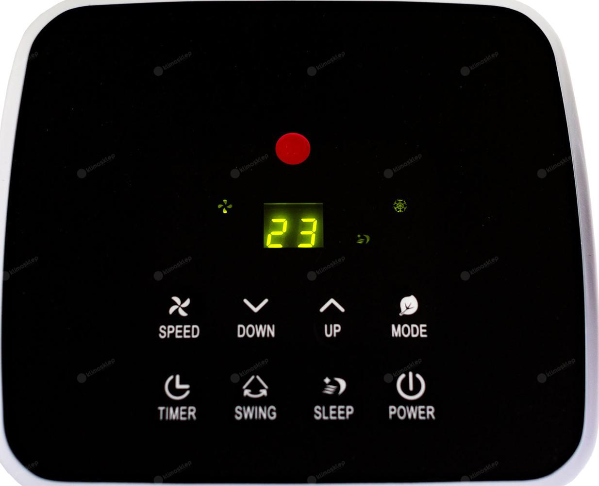 Klimatyzator przenośny Focus SKY-5A - panel sterowania
