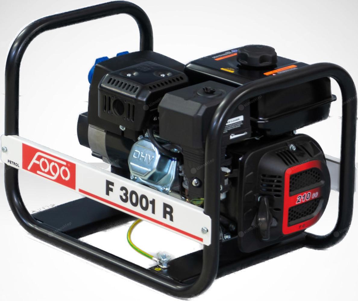 Agregat prądotwórczy FOGO F 3001 R z zabezpieczeniem przeciążeniowym
