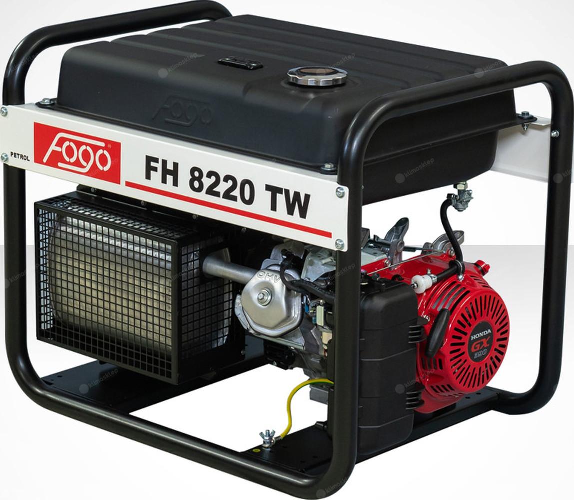 Agregat prądotwórczy Fogo FH 8220 TW z powiększonym zbiornikiem paliwa