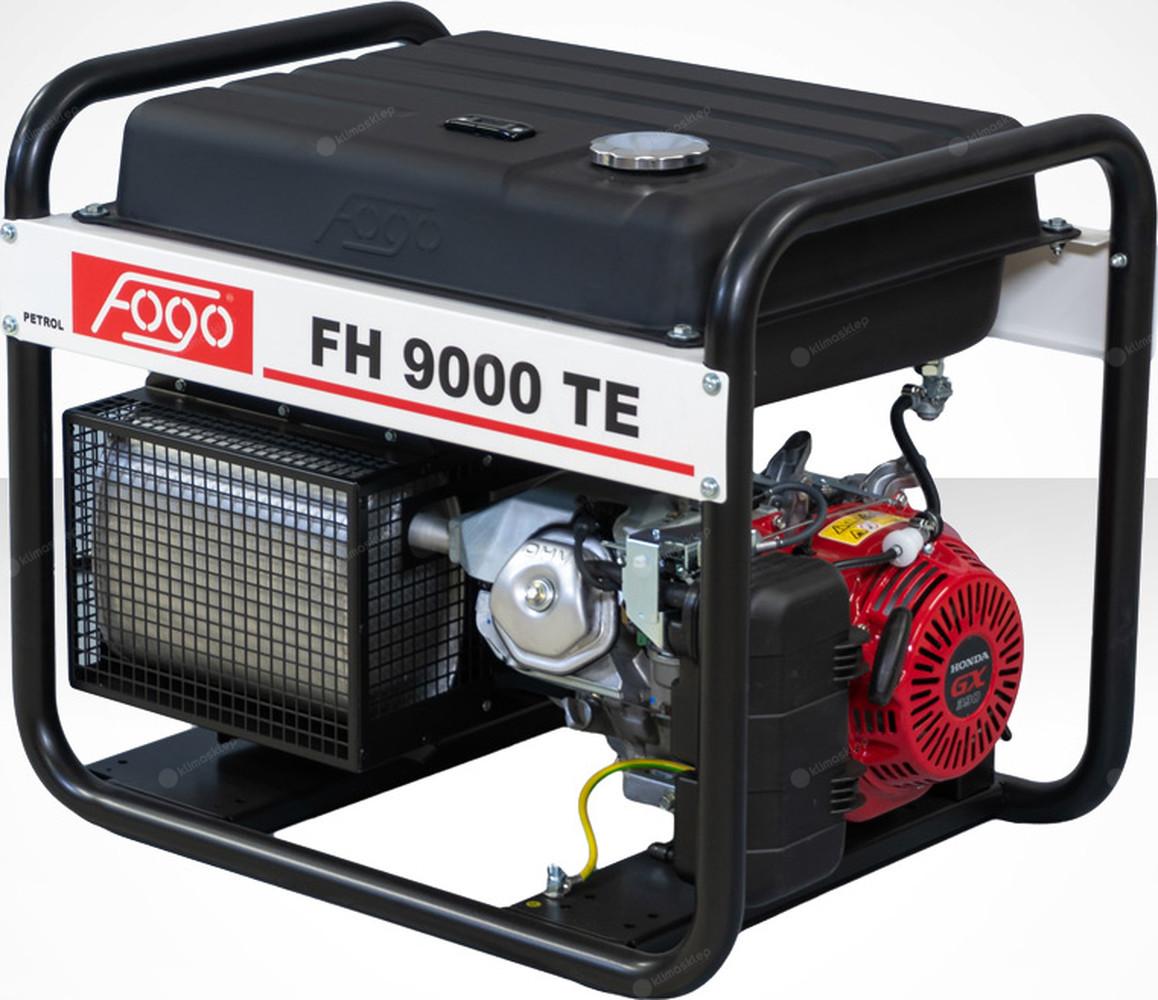 Agregat prądotwórczy Fogo FH 9000 TE z powiększonym zbiornikiem paliwa