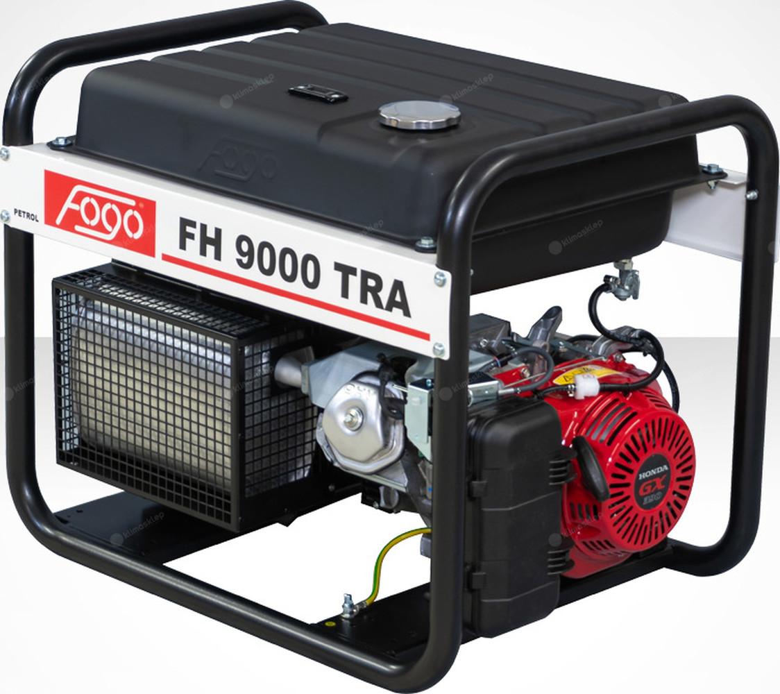 Agregat prądotwórczy Fogo FH 9000 TRA z powiększonym zbiornikiem paliwa