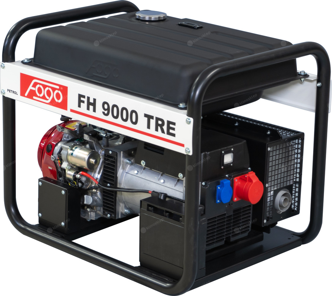 Agregat prądotwórczy Fogo FH 9000 TRE (silnik Honda)