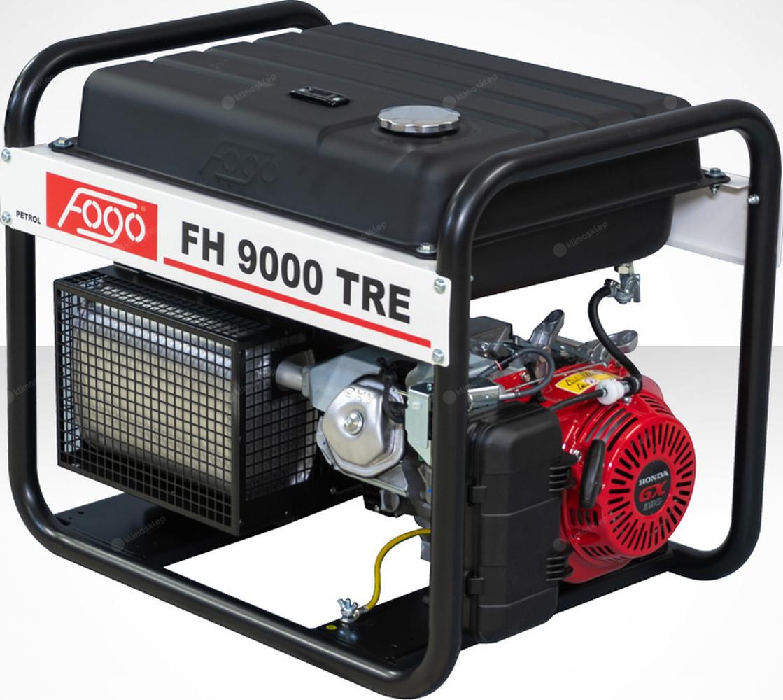 Agregat prądotwórczy Fogo FH 9000 TRE z powiększonym zbiornikiem paliwa