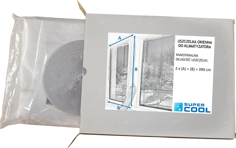 Uszczelka okienna do klimatyzatorów przenośnych Fral - długość 3,9m