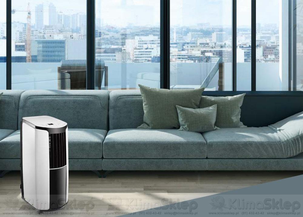 Klimatyzator przenośny Gree Shiny w mieszkaniu