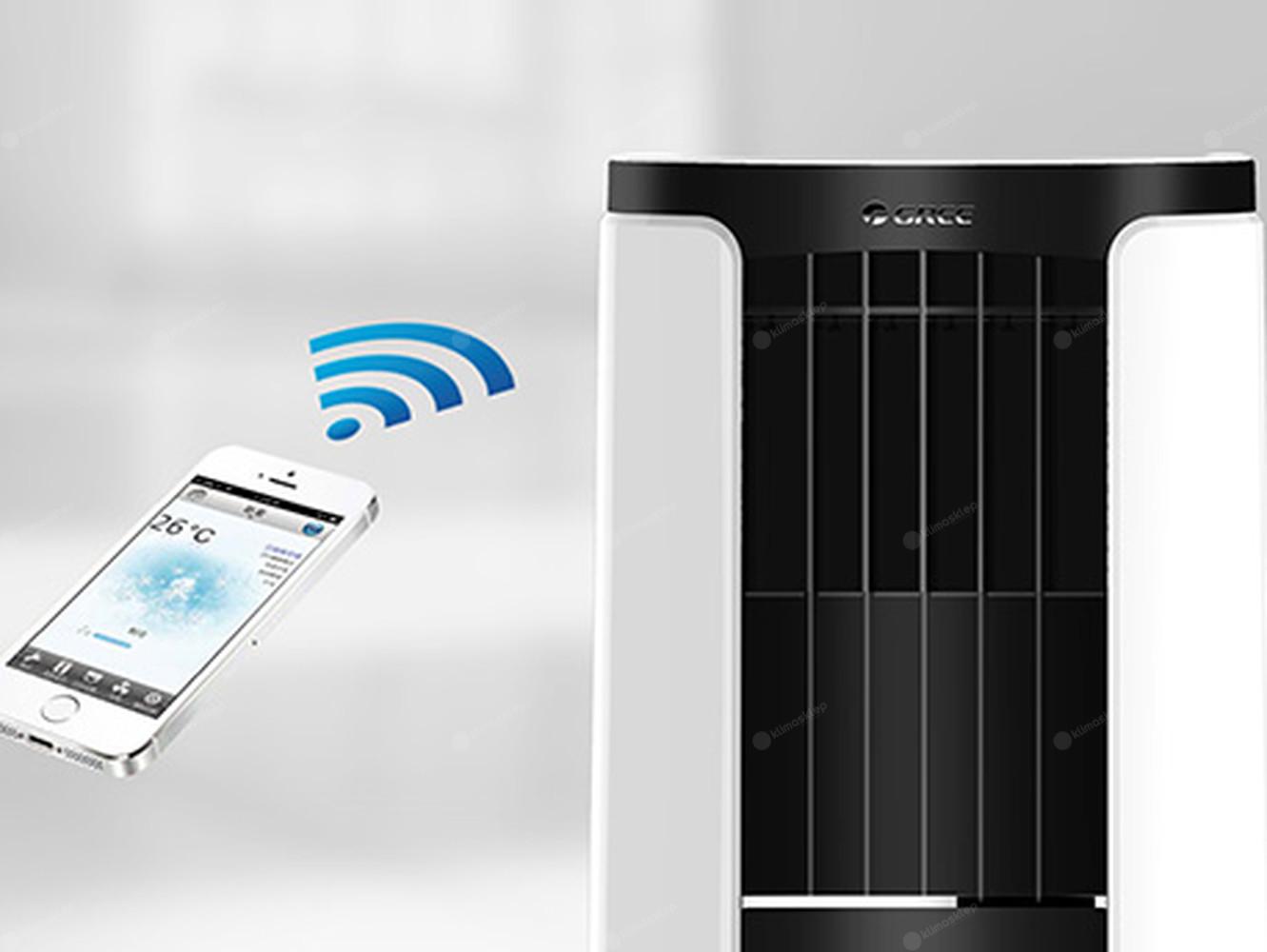 Gree Shiny GPC10AL-K5NNA1A - obsługa za pomocą smartfona