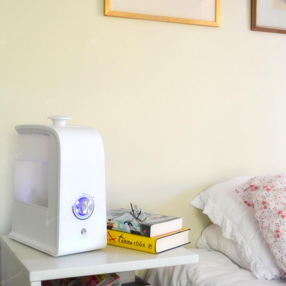 Nawilżacz Hace MJS401 - przykładowe zastosowanie w sypialni