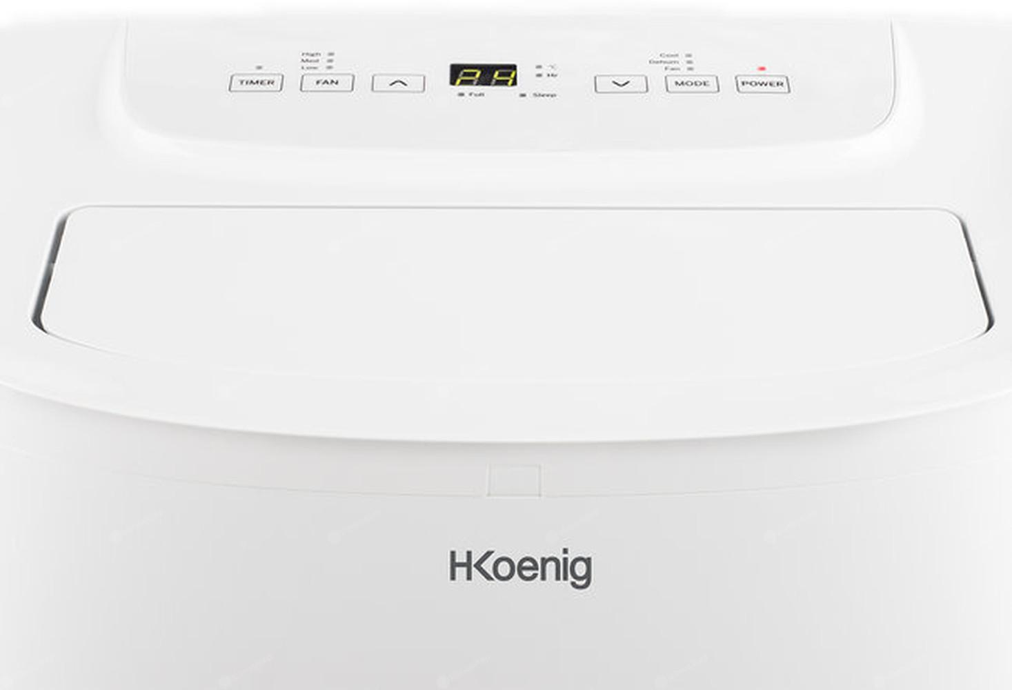 Klimatyzator przenośny H.Koenig-KOL6812 - panel sterowania