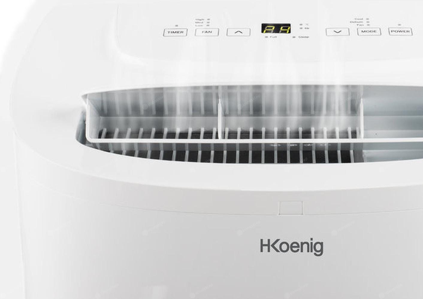 Klimatyzator H.Koenig-KOL6812 - wylot zimnego powietrza