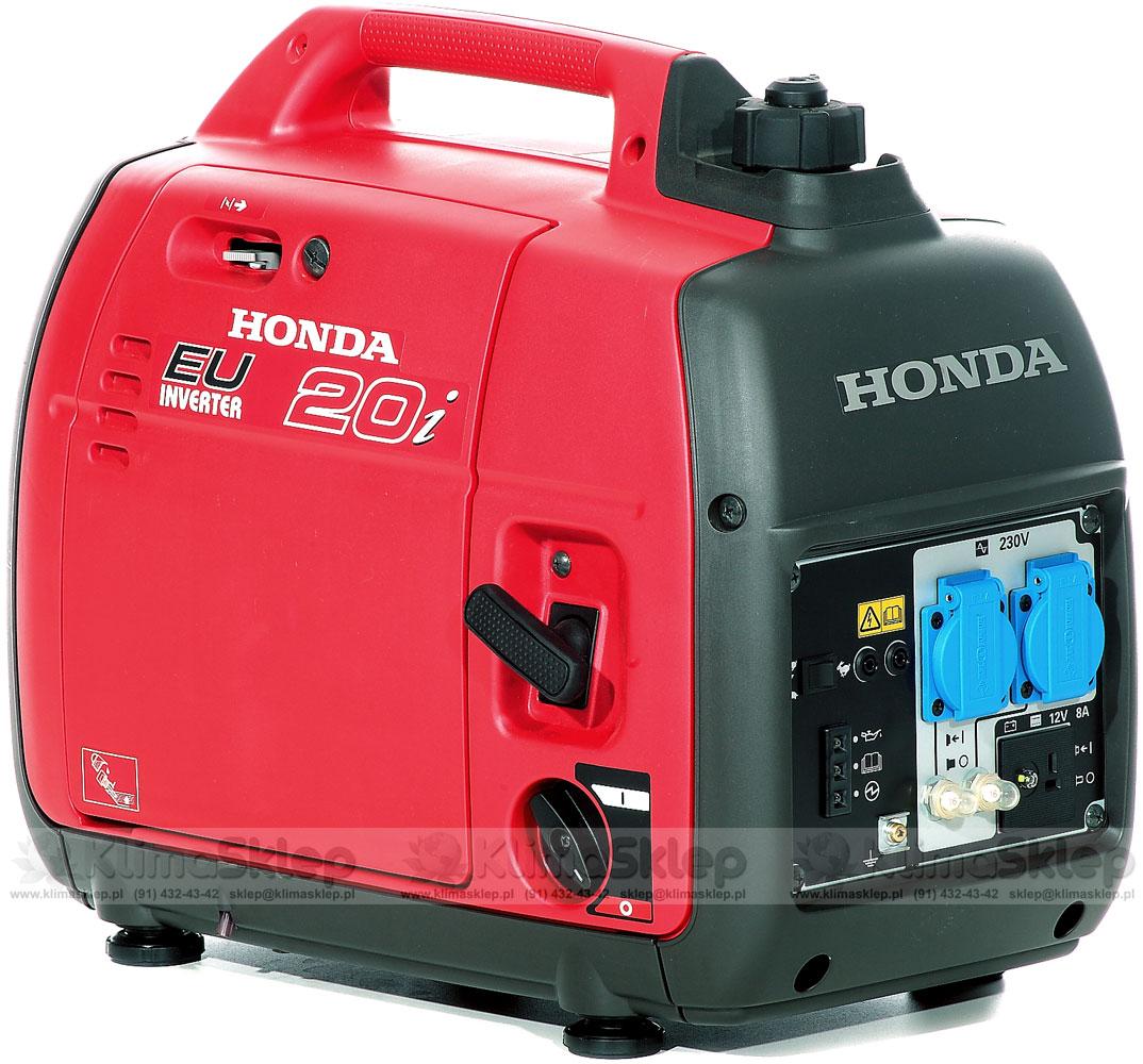 Chwalebne ᐅ Agregat prądotwórczy Honda EU 20i + olej Honda 10W-30 VW61