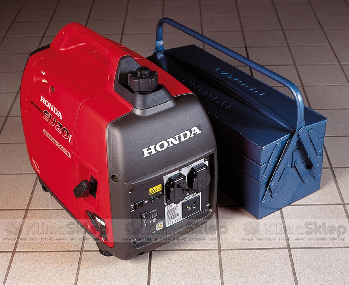 Inne rodzaje ᐅ Agregat prądotwórczy Honda EU 20i + olej Honda 10W-30 XH82