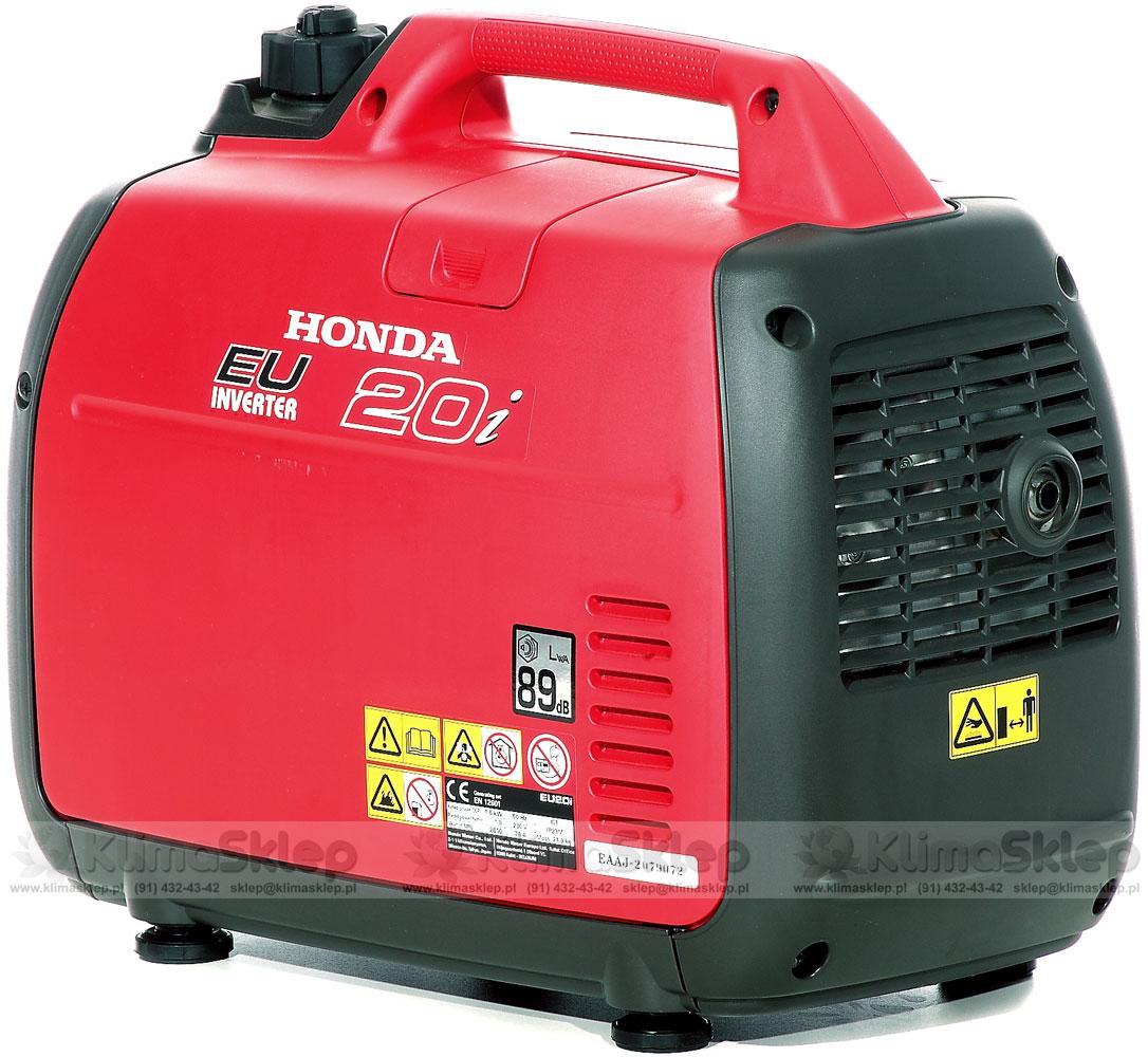 Zupełnie nowe ᐅ Agregat prądotwórczy Honda EU 22i + olej Honda 10W-30 MZ27