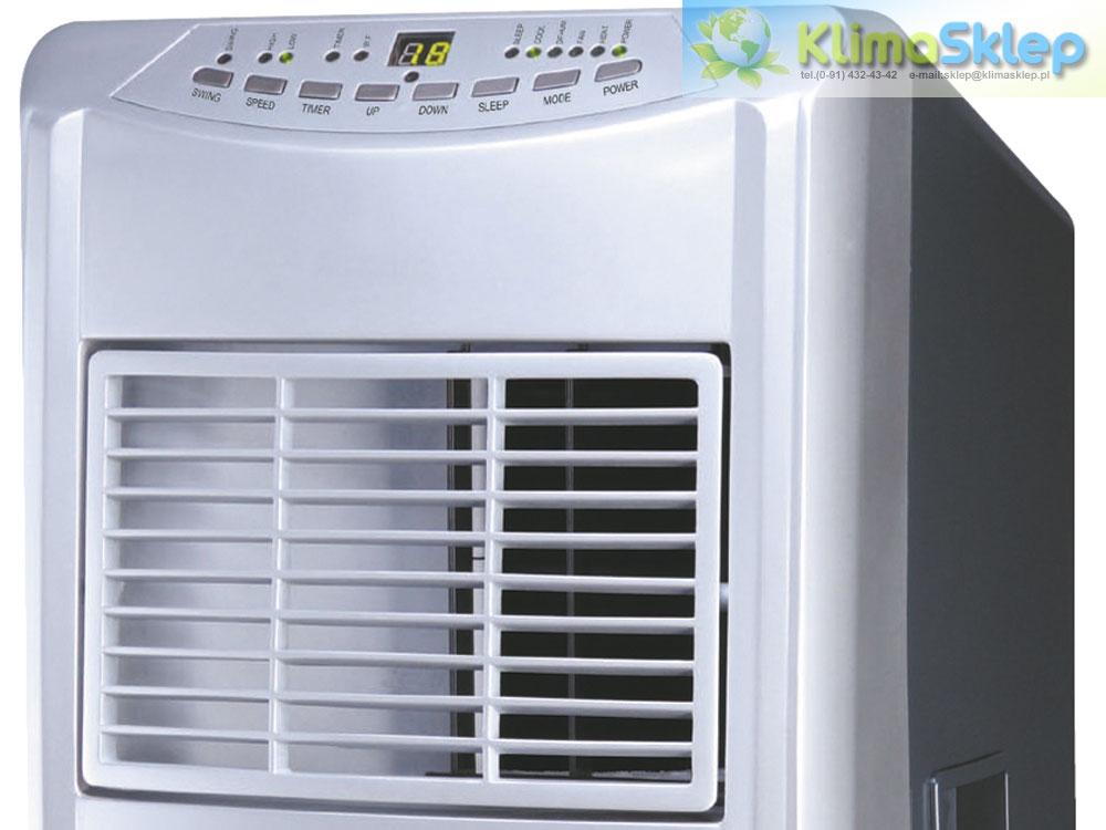 Thomson CLI110E - panel sterowania i wylot powietrza
