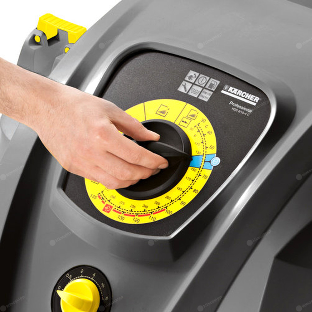 Myjka wysokociśnieniowa Kärcher HDS 8/18-4 CX - wygodne pokrętło obsługowe