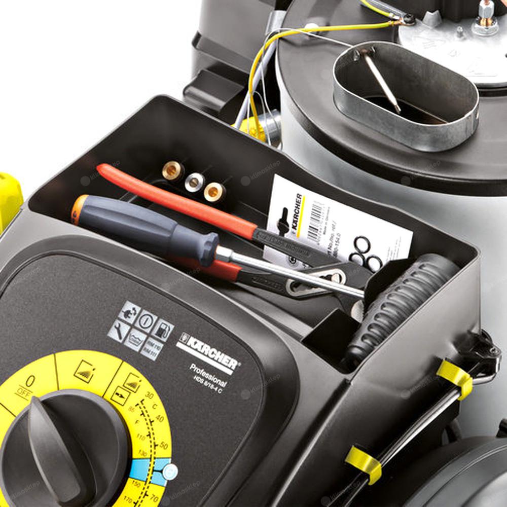 Myjka wysokociśnieniowa Kärcher HDS 8/18 4 CX - schowek na akcesoria
