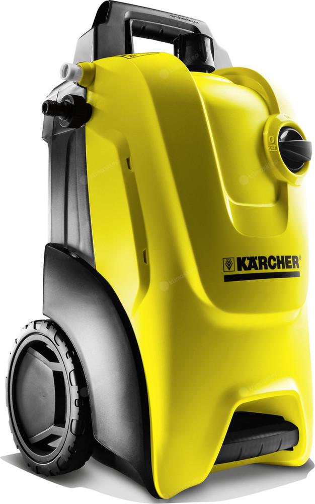Myjka wysokociśnieniowa Kärcher K 4 Compact to mobilna konstrukcja