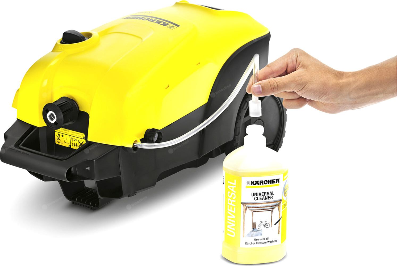 Myjka wysokociśnieniowa Kärcher K 4 Compact - zasysanie środka czyszczącego