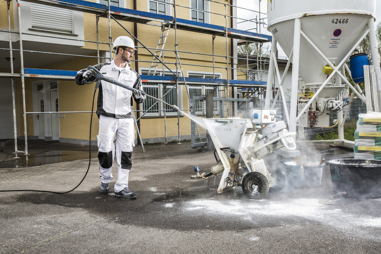 Myjki wysokociśnieniowe Karcher do czyszczenia maszyn