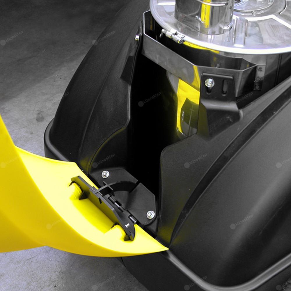 Myjki Lavor z serii Tekna są wyposażone w 22l zbiornik detergentu
