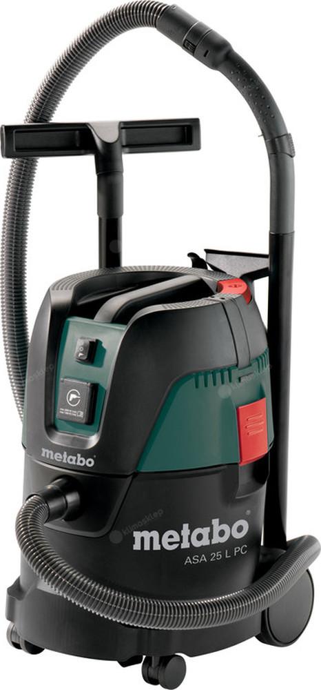 Elektryczy odkurzacz przemysłowy Metabo ASA 25 L PC