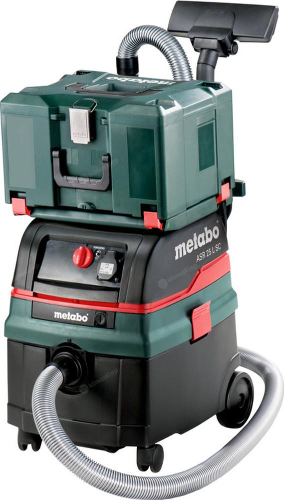 Odkurzacz Metabo ASR 25 L SC z funkcją Self Clean