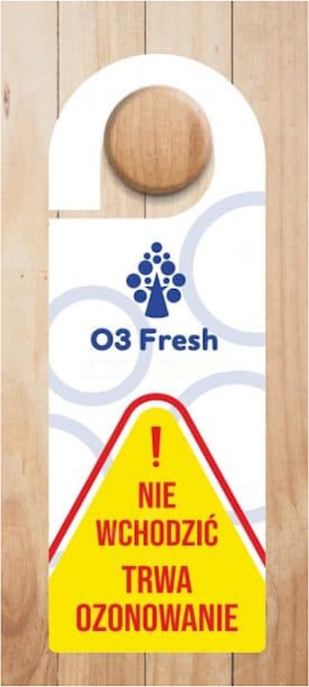 Ozonator O3 Fresh 45/90G-120 - zawieszka ostrzegawcza w zestawie