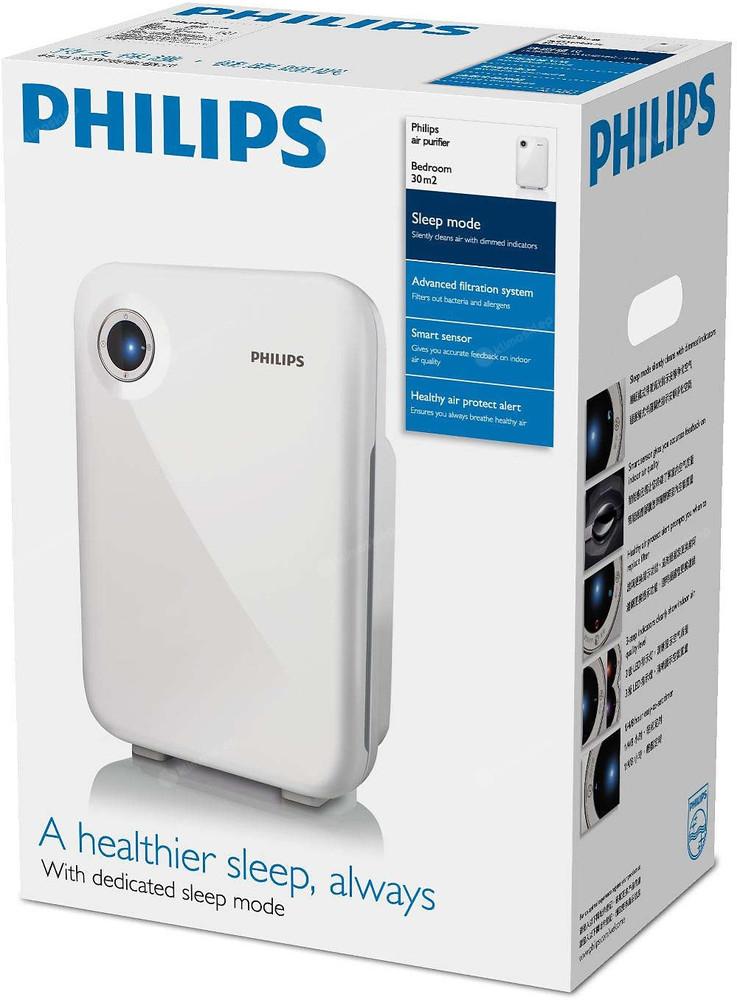 Oczyszczacz powietrza Philips AC 4012 - wydajna 3 stopniowa filtracja