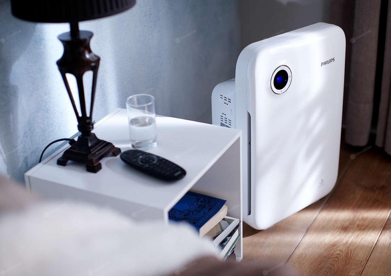 Oczyszczacz powietrza Philips AC 4012 idealny do małych pomieszczeń