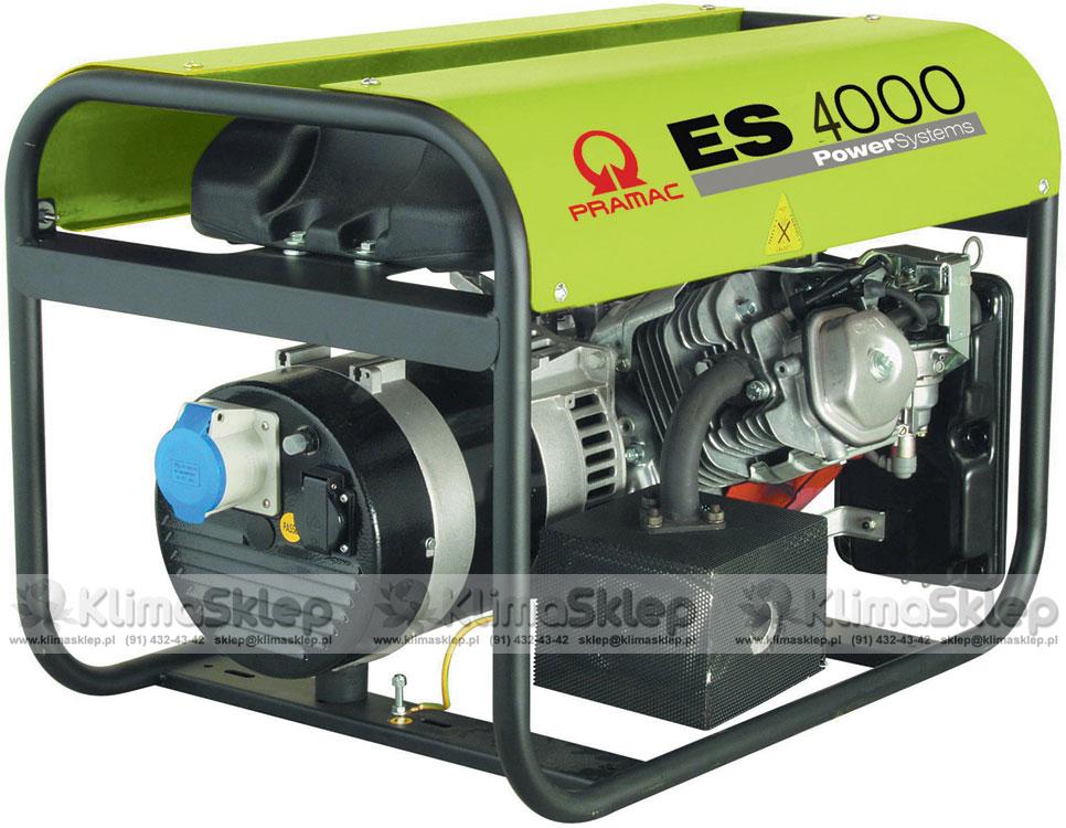 Agregat prądotwórczy Pramac ES4000 AVR 230V (silnik Honda)