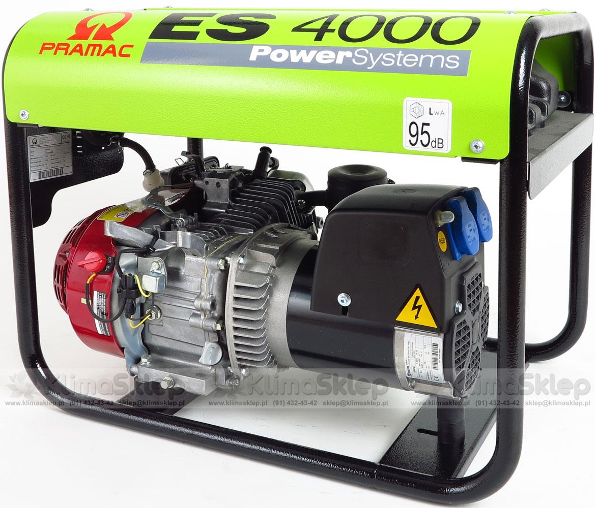 Agregat prądotwórczy PRAMAC ES4000 AVR 230V