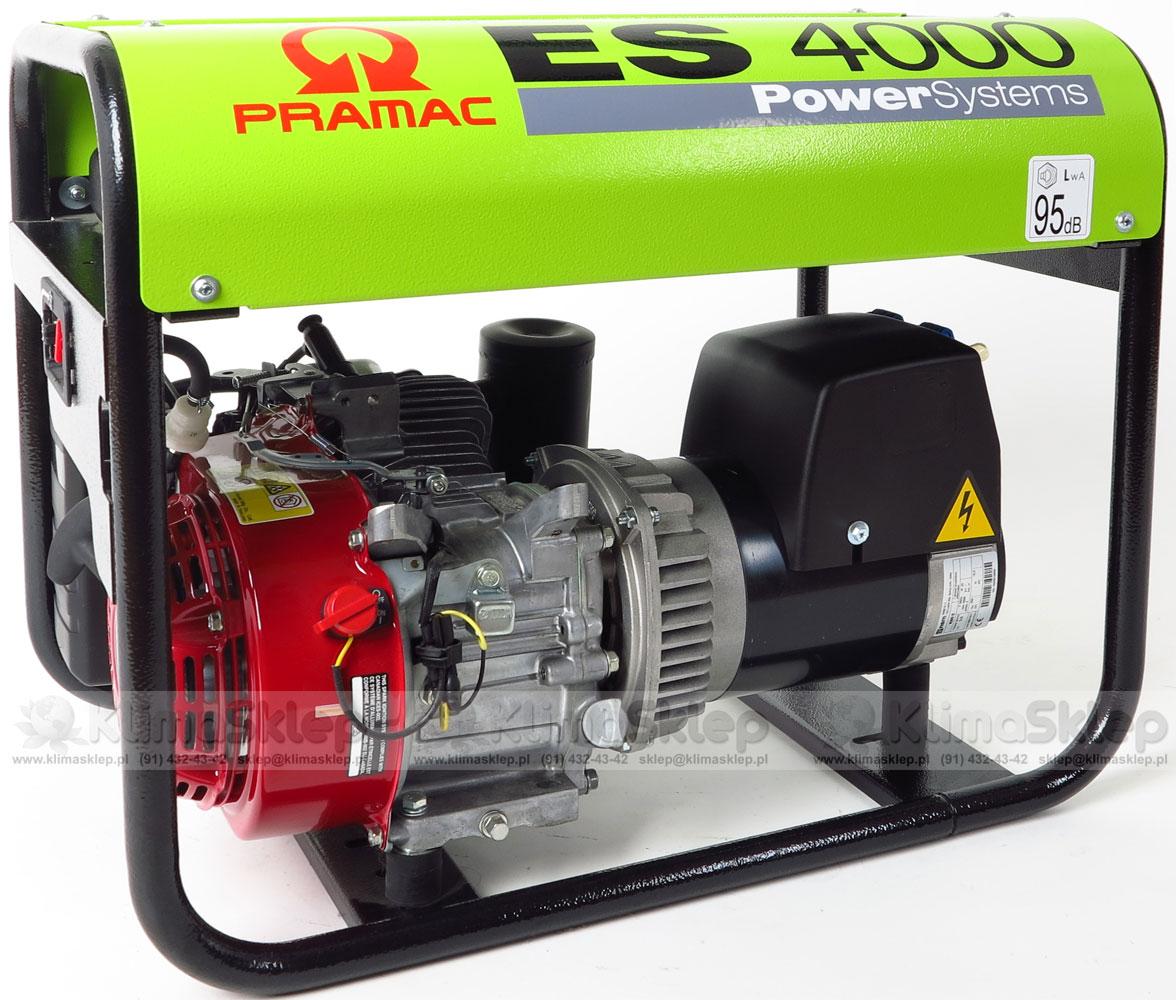 Agregat prądotwórczy PRAMAC ES4000 AVR 230V - silnik