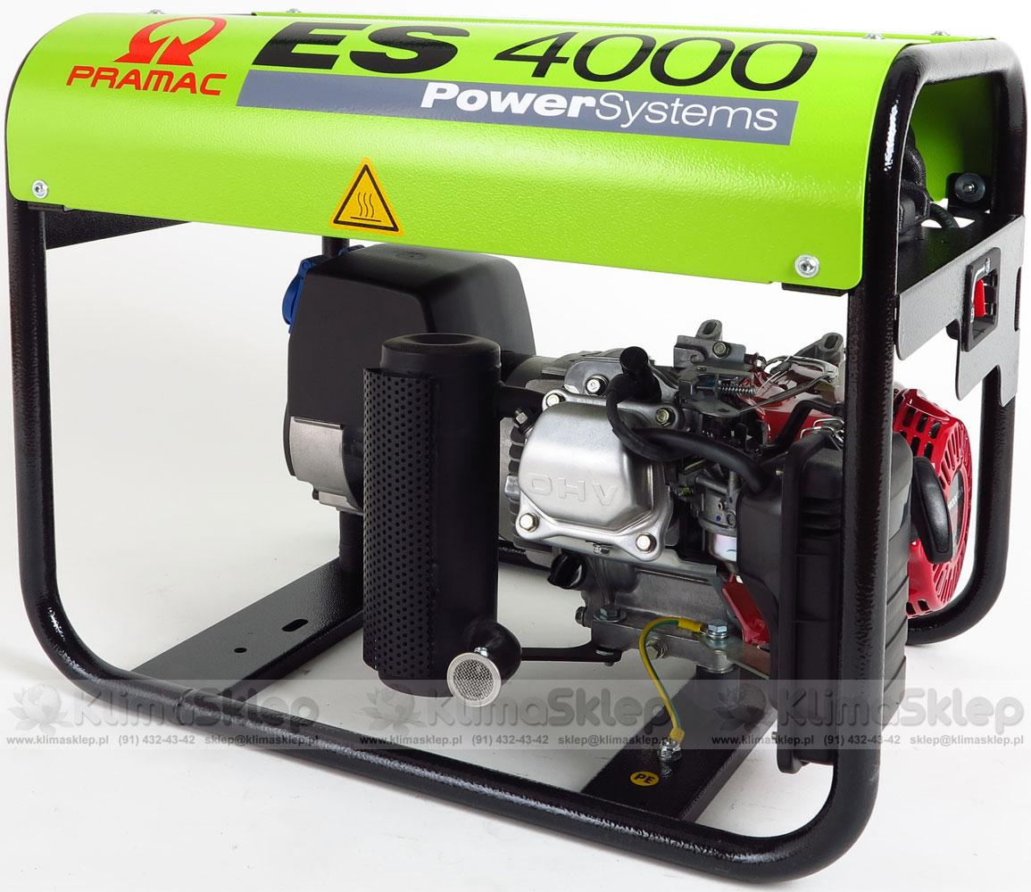 Agregat PRAMAC ES 4000 AVR 230V