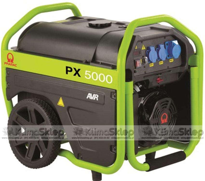 Agregat prądotwórczy Pramac PX5000 AVR 230V (silnik Pramac)