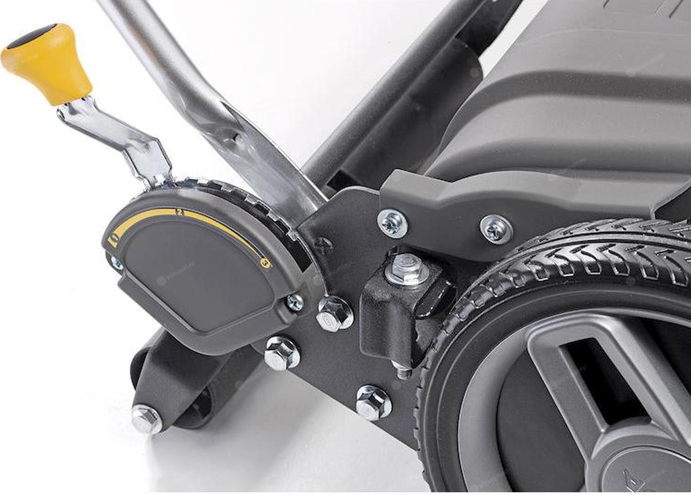 Kosiarka SCM 440 FS Stiga posiada 9 wysokości koszenia
