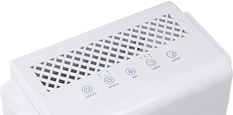 Oczyszczacz Warmtec AP 077W - panel sterujący