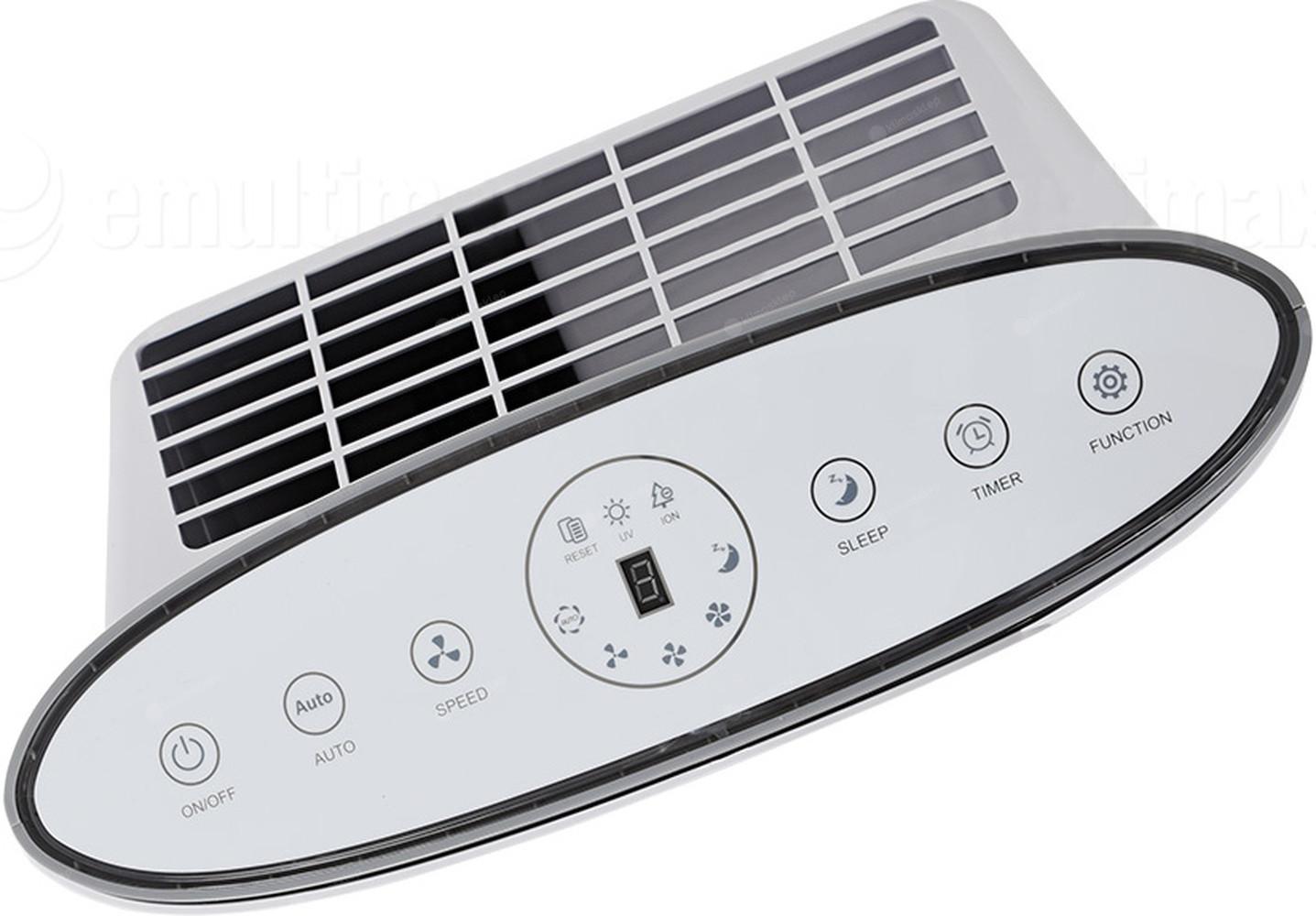 Oczyszczacz powietrza Warmtec AP 200W - panel sterowania