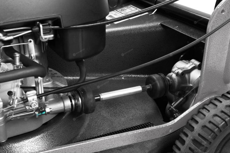 Kosiarka aluminiowa Weibang WB537SC V AL z przekładnią napędu: wał kardana